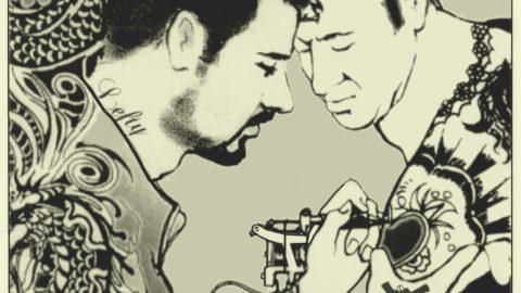 tekening tatoeeeren